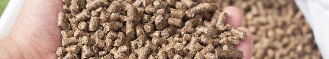 Bentonite for animal feed pellet
