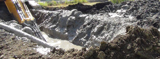 bentonite for Slurry trenching