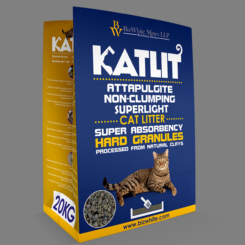KATLIT Attapulgite Non-Clumping SuperLight Cat Litter