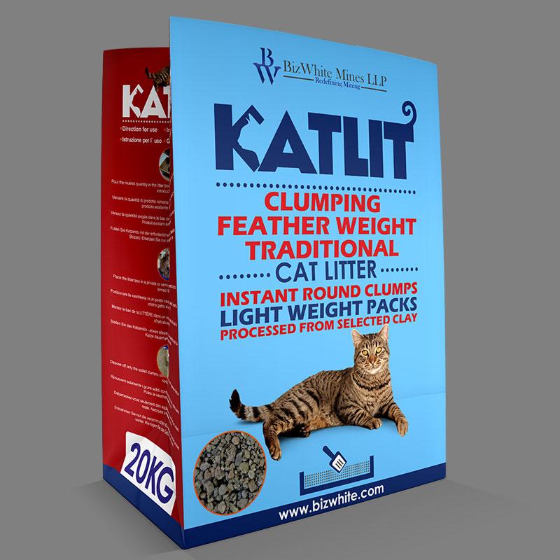 KATLIT Clumping FeatherWeight Traditional Cat Litter