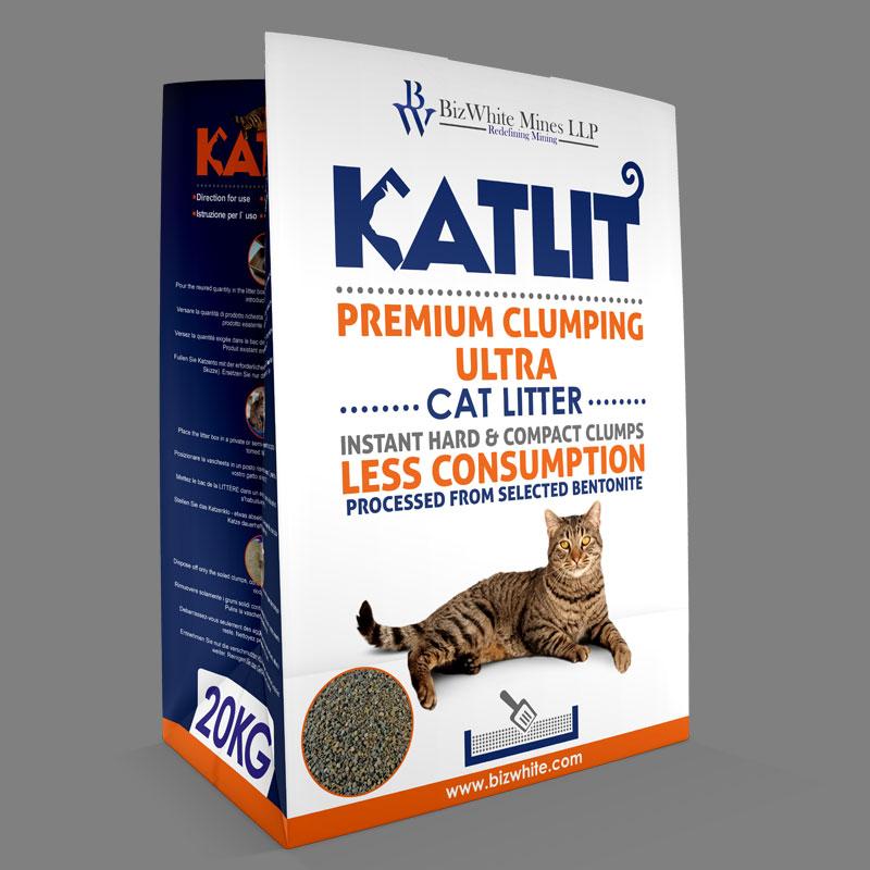 KATLIT Ultra Scoopable Compact Cat Litter